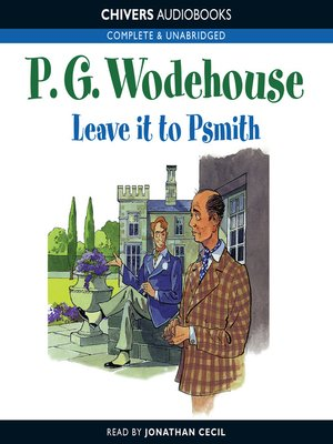 cover image of Leave it to Psmith