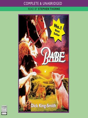 cover image of Babe, The Sheep-Pig