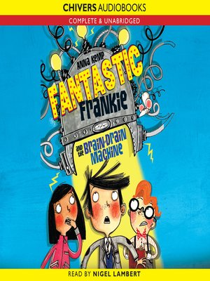 cover image of Fantastic Frankie and the Brain Drain Machine