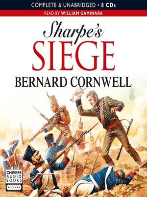 cover image of Sharpe's Siege: Richard Sharpe and the Winter Campaign, 1814