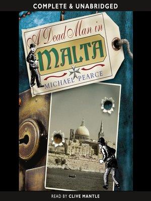cover image of A Dead Man in Malta