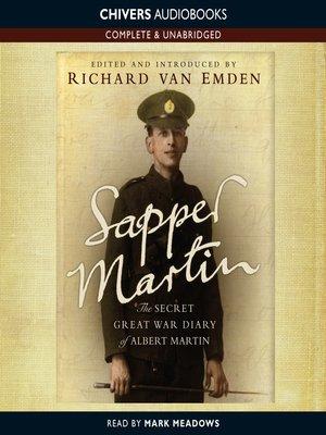 cover image of Sapper Martin