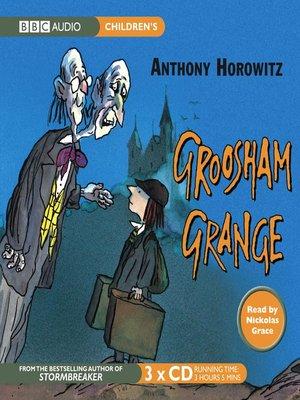 cover image of Groosham Grange