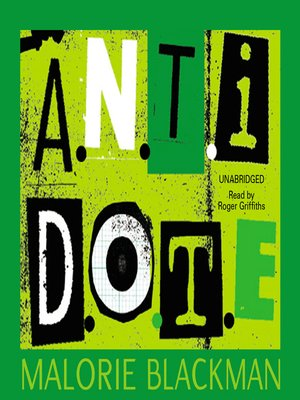 cover image of A.N.T.I.D.O.T.E.