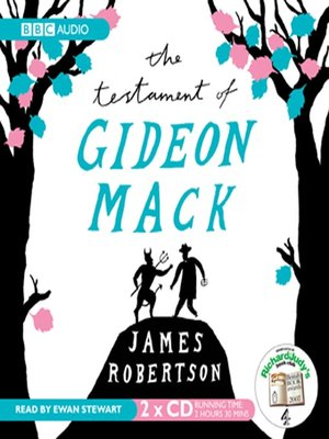 cover image of The Testament Of Gideon Mack