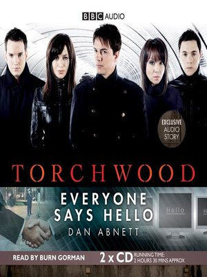 cover image of Everyone Says Hello