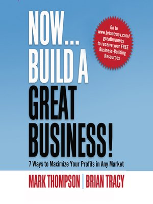 cover image of Now, Build a Great Business