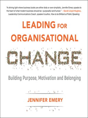 cover image of Leading for Organisational Change