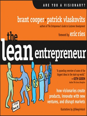 cover image of The Lean Entrepreneur
