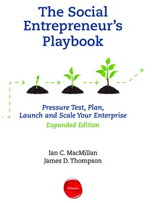cover image of The Social Entrepreneur's Playbook, Expanded Edition