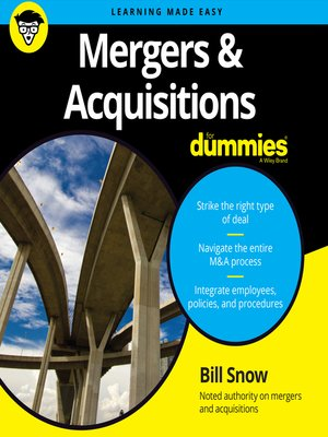 cover image of Mergers & Acquisitions for Dummies