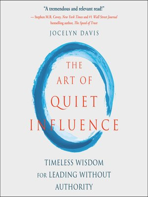 cover image of The Art of Quiet Influence