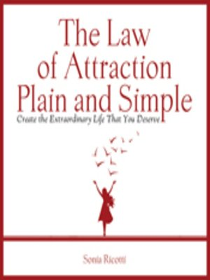 cover image of The Law of Attraction, Plain and Simple