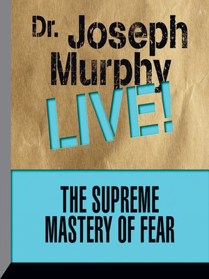 cover image of The Supreme Mastery of Fear