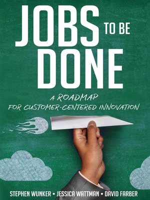 cover image of Jobs to Be Done