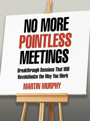 cover image of No More Pointless Meetings