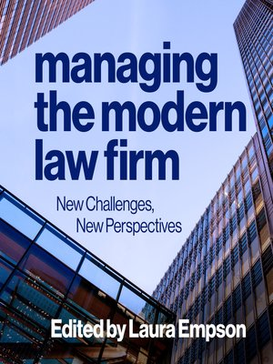 cover image of Managing the Modern Law Firm