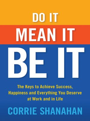 cover image of Do It, Mean It, Be It