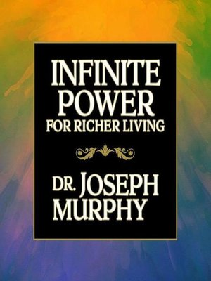 cover image of Infinite Power for Richer Living