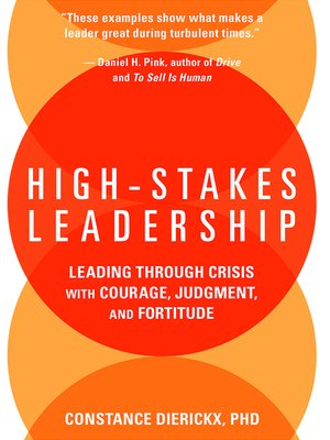 cover image of High-Stakes Leadership