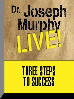 cover image of Three Steps to Success
