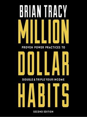cover image of Million Dollar Habits