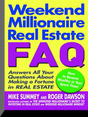 cover image of Weekend Millionaire's Real Estate FAQ