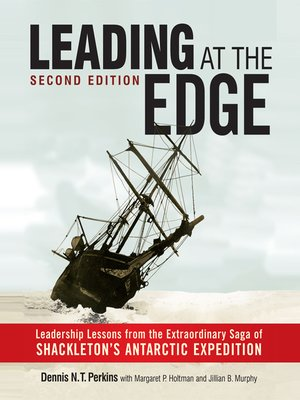 cover image of Leading at the Edge