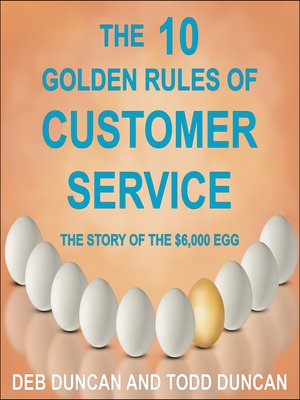 cover image of The 10 Golden Rules of Customer Service