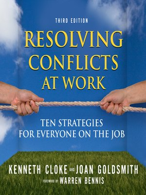 cover image of Resolving Conflicts at Work