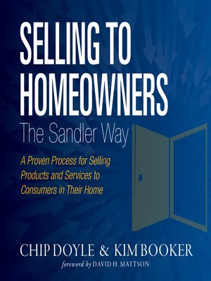 cover image of Selling to Homeowners the Sandler Way