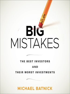 cover image of Big Mistakes