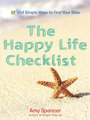 cover image of The Happy Life Checklist