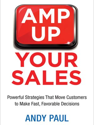 cover image of Amp Up Your Sales