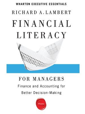 cover image of Financial Literacy for Managers