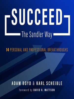 cover image of Succeed the Sandler Way