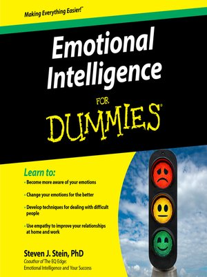 cover image of Emotional Intelligence For Dummies