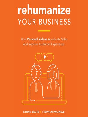 cover image of Rehumanize Your Business