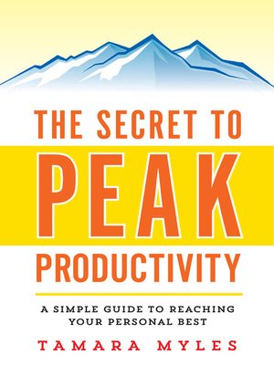 cover image of The Secret to Peak Productivity