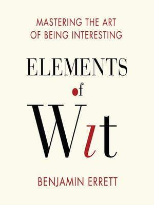 cover image of Elements Wit