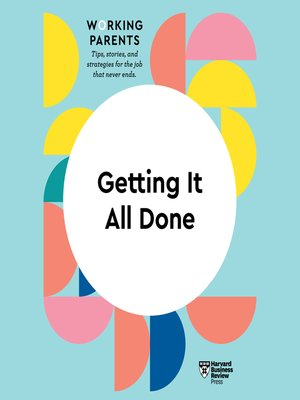 cover image of Getting It All Done