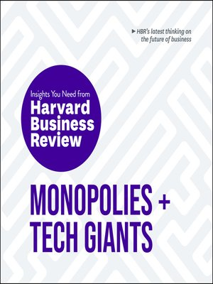 cover image of Monopolies and Tech Giants