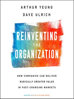 cover image of Reinventing the Organization