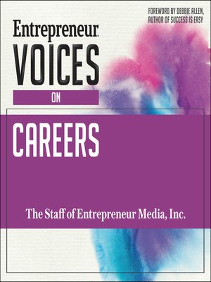 cover image of Entrepreneur Voices on Careers