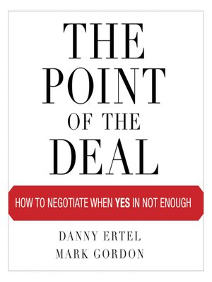 cover image of The Point of the Deal