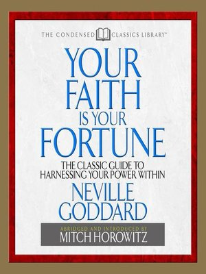 cover image of Your Faith is Your Fortune