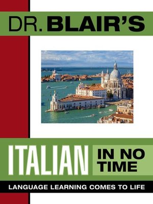 cover image of Dr. Blair's Italian in No Time
