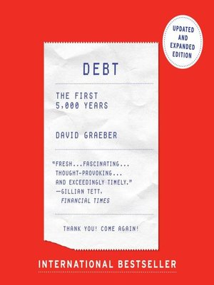 cover image of Debt--Updated and Expanded