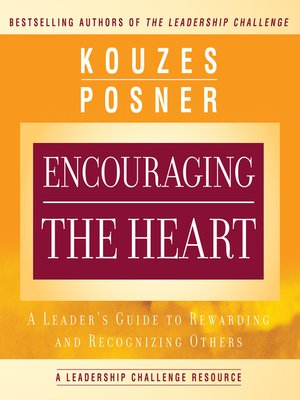 cover image of Encouraging the Heart