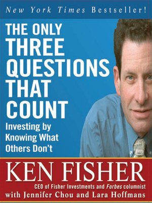 cover image of The Only Three Questions That Count
